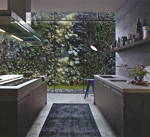 Vistas al jardín desde la cocina de tu casa