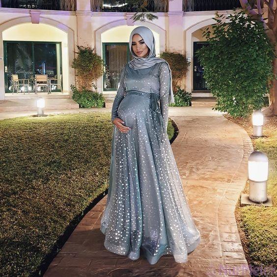 En Rahat 2020 Tesettur Hamile Elbise Modelleri 2020 Musluman Modasi Elbise Moda Stilleri