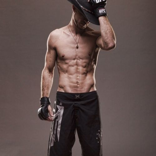 """Donald """"Cowboy"""" Cerrone  If you're not already watching UFC you need to. Reason #203"""