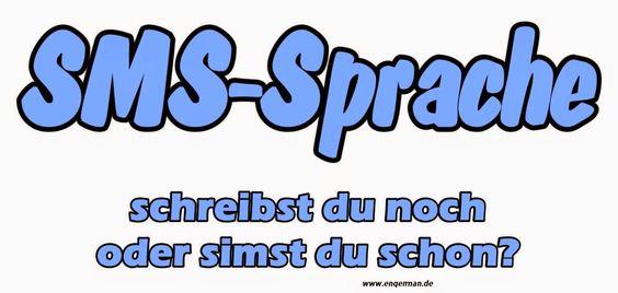 SMS abbreviations in German - SMS-Abkürzungen auf Deutsch | L E A R N G E R M A N
