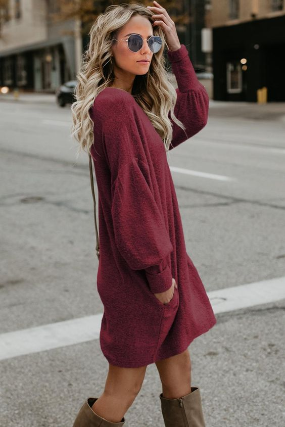 32 Sweater Dresses Every Girl Should Try outfit fashion casualoutfit fashiontrends