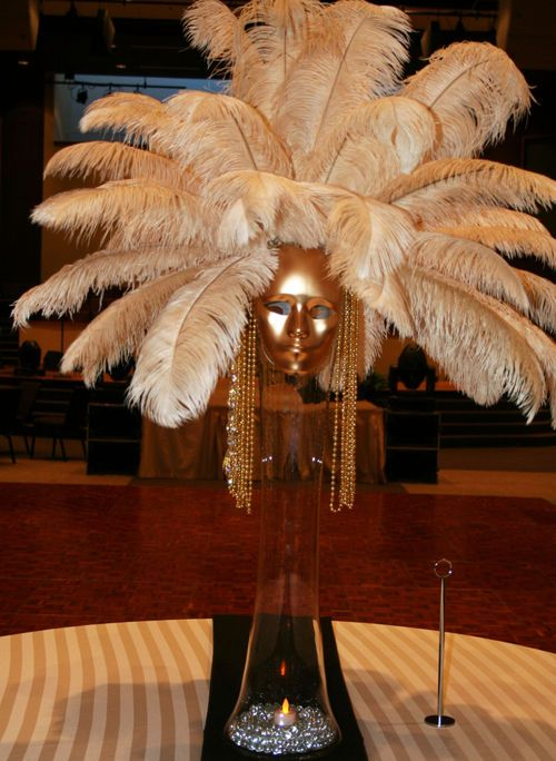 Masquerade ball centerpiece ideas rhonda patton weddings for Ball decoration ideas