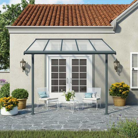 Costway Outdoor 10 X10 Square Gazebo Canopy Tent Shelter Awning Garden Patio Tan Gazebo Canopy Gazebo Patio Gazebo