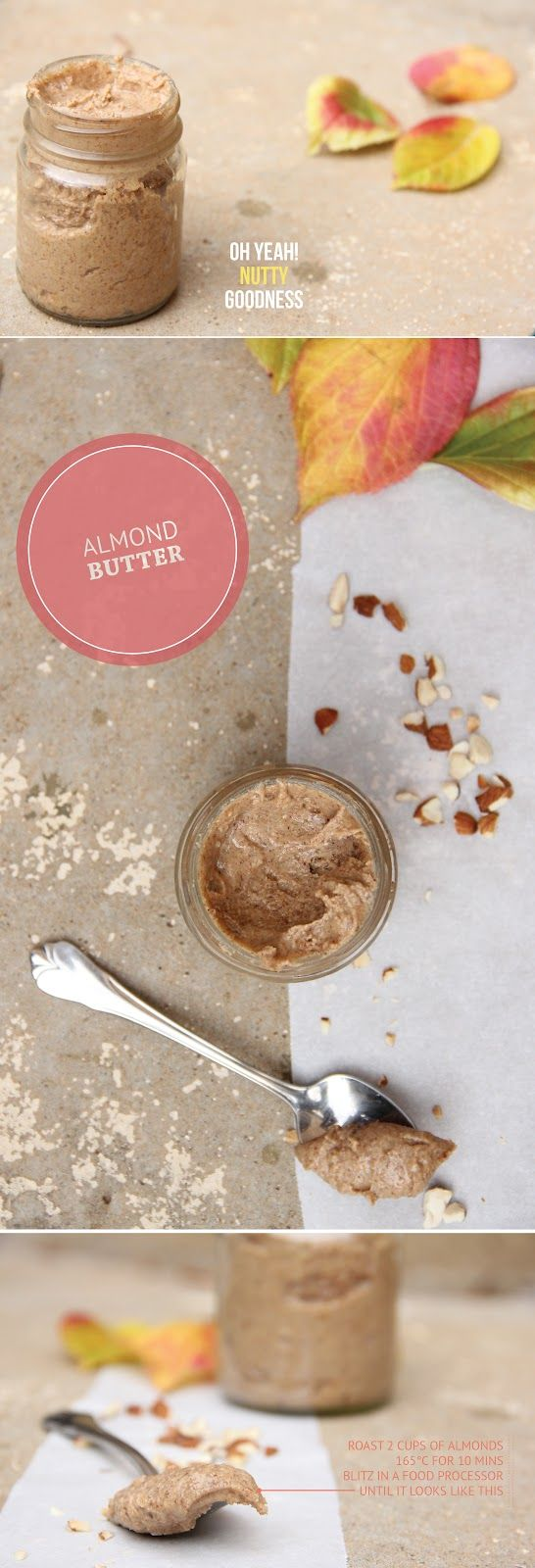 So amazing...ALMOND BUTTER