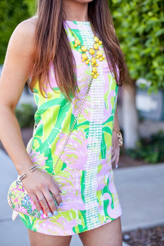 {Lilly Pulitzer, Target, Style-Fashion-Dress-Spring-Summer-Hair-Makeup}