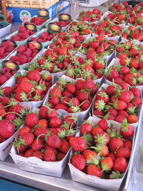 Strawberry season - and they're all delicious