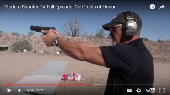Modern Shooter takes a look at how Colt is supporting the Folds of Honor Foundation, plus the new Colt Competition and Colt Combat Unit pistols.