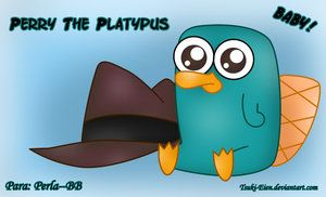 perry the platypus as a baby: Babies, Animals, Disney Obsession, Perry It S, Baby Perry, Perry The Platypus, My Style
