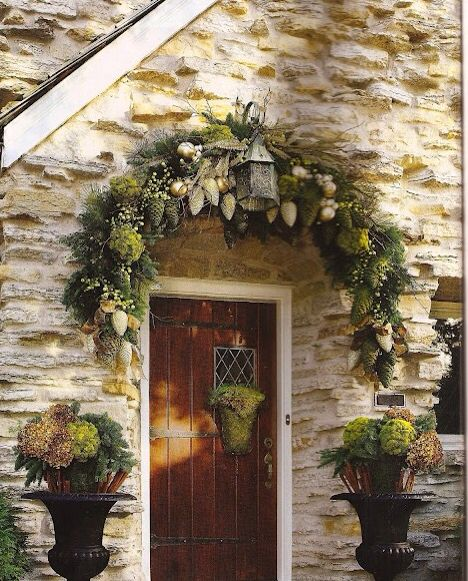 What don't I like about the simplicity? The stone? The planters? The decor? Nothing....like it all.