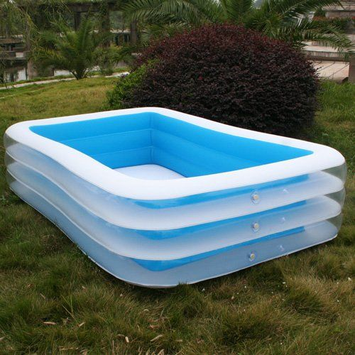 Inflatable swimming pools for adults 24 hours test each items before deliver party ideas for Blow up swimming pools for adults