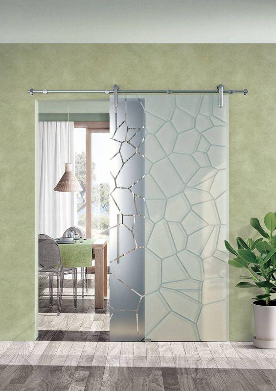 25 Patterned Glass Doors To Rock This Year interiors homedecor interiordesign homedecortips