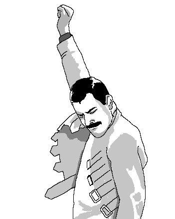 Este é Freddie Mercury, um dos vocalistas mais importantes e idolatrados da história do rock. > http://ads.tt/1BPL8