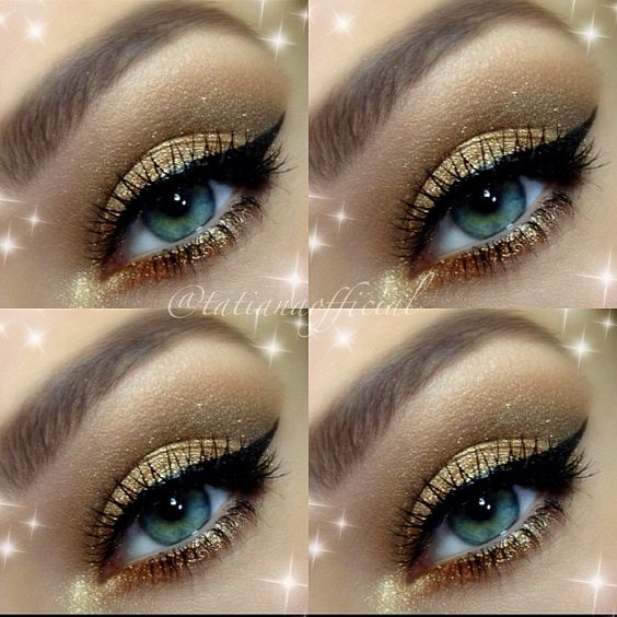 ♥ that winged eyeliner ! #makeup