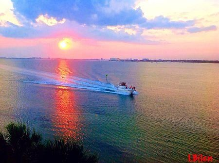 Sunset over Boca Ciega Bay  Photo by Inci Bilen — National Geographic Your Shot