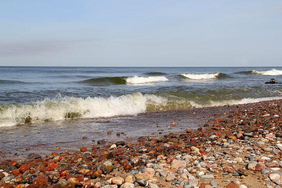 Балтийское море, волны