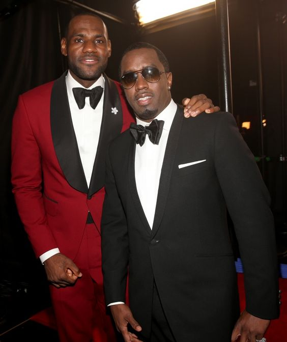 "LeBron James And Sean ""Diddy"" Combs 