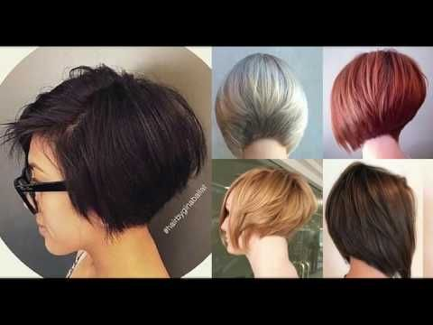 Short Stacked Layered Bob Haircut Youtube Stacked Bob Haircut Layered Bob Haircuts Short Stacked Bob Haircuts