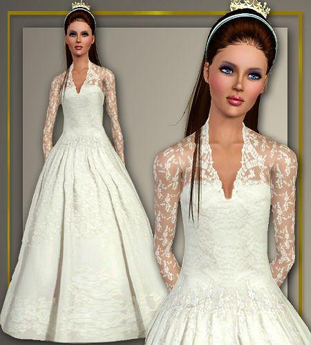 Wedding Altar Sims: Kate Middleton Wedding Dress, Kate Middleton Wedding And