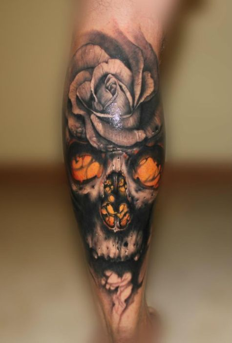 Flower tattoos skulls and best tattoo ever on pinterest for The best tattoos ever