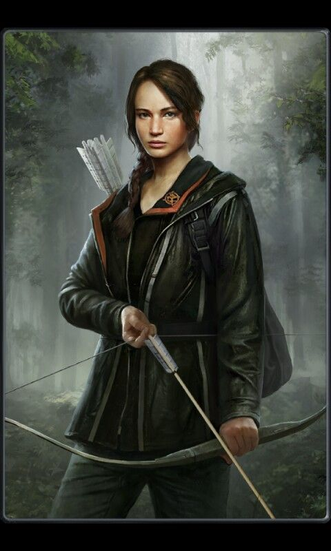 Katniss Everdeen from Panem Rising