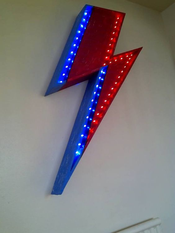 David Bowie Aladdin Sane Ziggy Stardust by BlackstarDisplays
