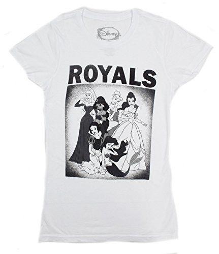 Disney Princesses Royals Belle Cinderella Juniors T-shirt