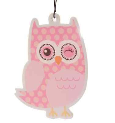 Air #freshener #dotty owls air #freshener apple car / van / #office / home,  View more on the LINK: http://www.zeppy.io/product/gb/2/121287799520/