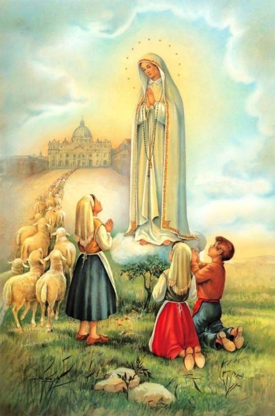 Virgen de Fátima oración para necesidades difíciles y urgentes