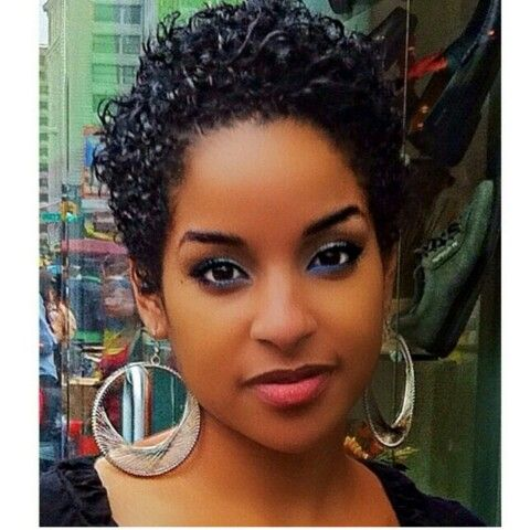 Awesome Short Black Hair Curls And Hair On Pinterest Short Hairstyles For Black Women Fulllsitofus