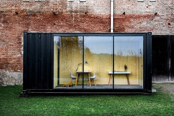 A Compact Office you Can Customize and Install Anywhere #shipping #container