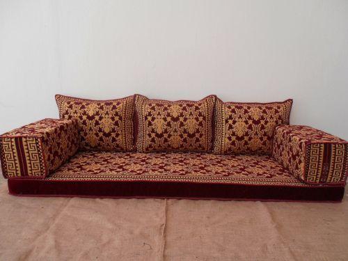 Arabic Seating Arabic Sofa Arabic Couch Floor Sofa Floor Seating Majlis Ma 63 Avec Images