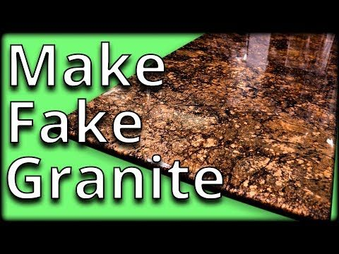Learn To Mimic Granite With Epoxy Stone Coat Countertops