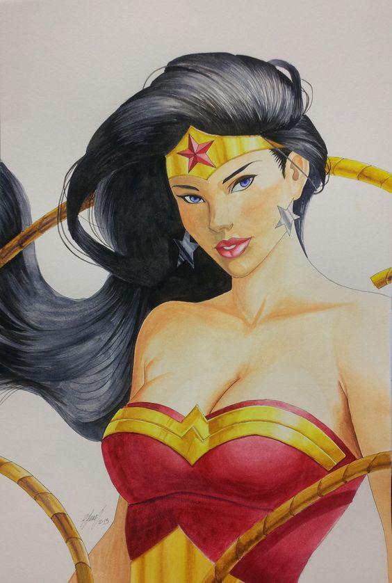 Wonder Woman by *task002 on deviantART
