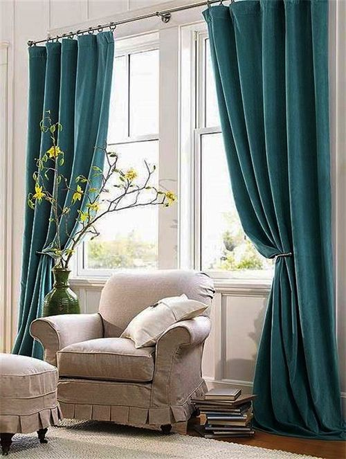 Welcome The New Year With Unique Curtain Models Decornp Dining Room Curtains Unique Curtains Appartment Decor