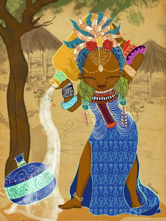 The Zodiac Girls by Jonquel Norwood, via Behance
