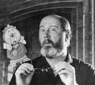 David Ogden Stiers the voice of Cogsworth | beauty and the ...
