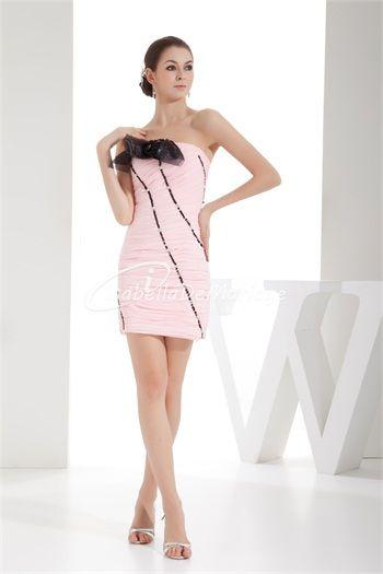 La meilleure robe demoiselle d´honneur attrayant  en Mousseline de soie sans bretelles Colonne/Gaine http://www.isabellademariage.com/La-meilleure-robe-demoiselle-dhonneur-attrayant-en-Mousseline-de-soie-sans-bretelles-Colonne-Gaine-p20562.html