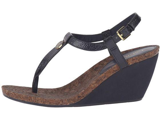 Lauren Ralph Lauren Women's Reeta Wedge Sandal >>> Click on the image for additional details.