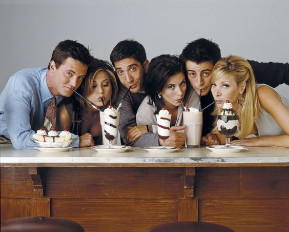 Everyday Phrases from 'Friends' TV Series - Slang 'Friends' Inspired
