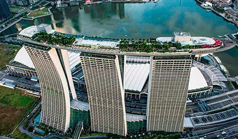 Singapore Luxury Hotel Marina Bay Sands Sands Hotel Singapore
