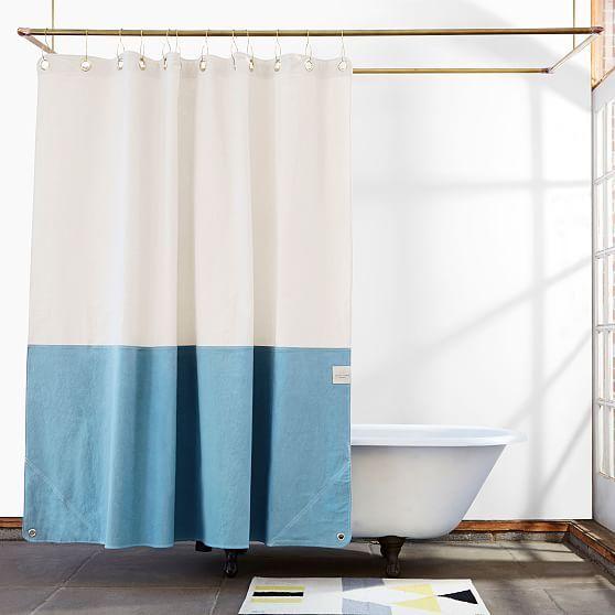 Quiet Town Home Orient Shower Curtain Atlantic In 2020 Curtains Shower Bedding Shop