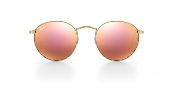Customise & Personalize Your Ray-Ban RB3447 Round Metal Sunglasses | Ray-Ban Australia