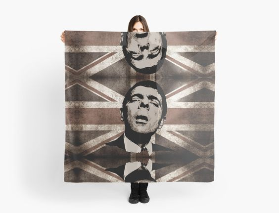 Mr BEAN scarf by ARTito
