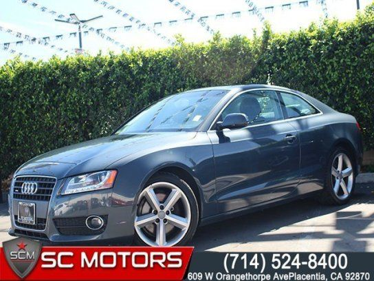 Coupe 2010 Audi A5 2 0t Premium Plus Quattro Cpe With 2 Door In Placentia Ca 92780 Audi A5 Audi Coupe
