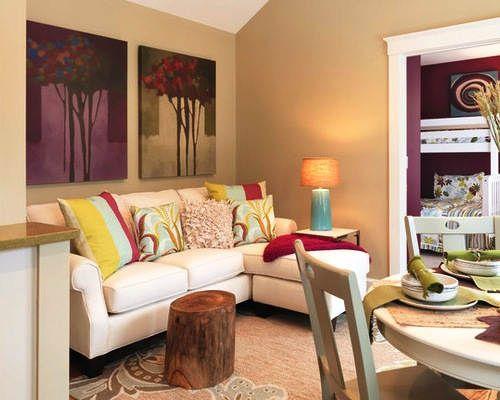 Warna Cat Dinding Ruang Tamu Yang Bagus Kombinasi 2 Warna