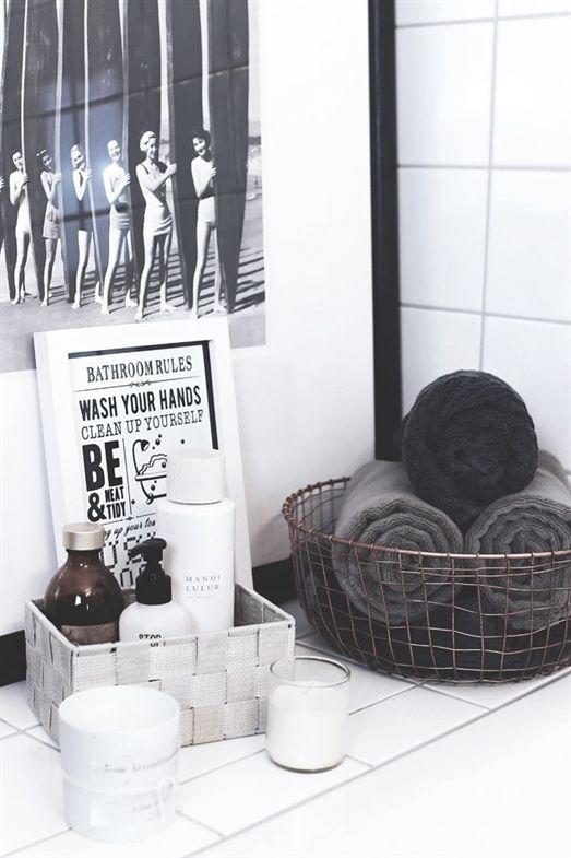 Pflanzen Und Deko Fur Ein Schones Badezimmer Bathroom Ideas Von