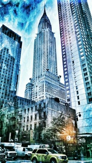 Chrysler Building. New York City.: