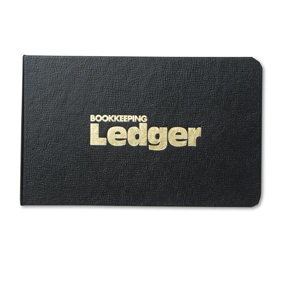 National Four-Ring Ledger Binder Kit 100 Ledger Sheets 8 1/2 x 5