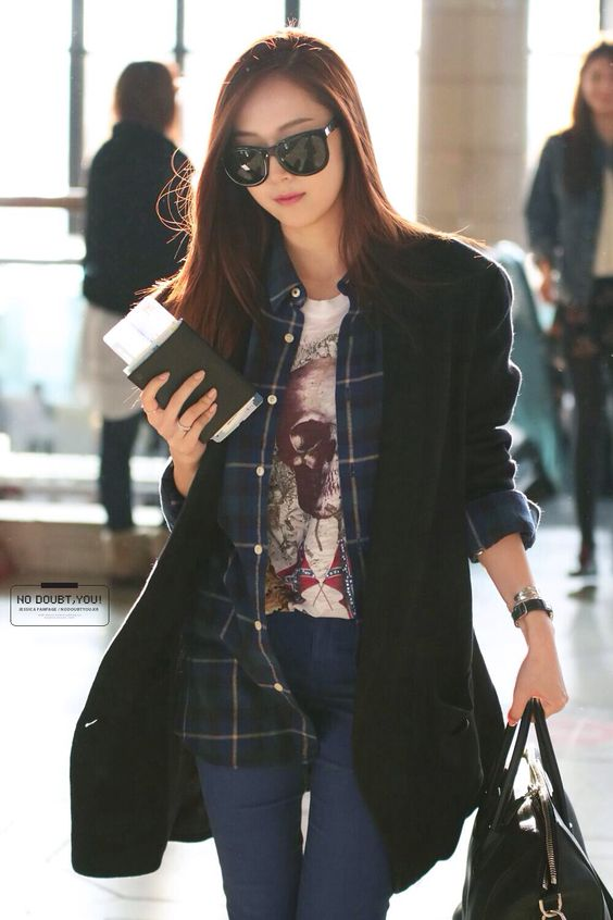 Jessica Jung Snsd And Airports On Pinterest