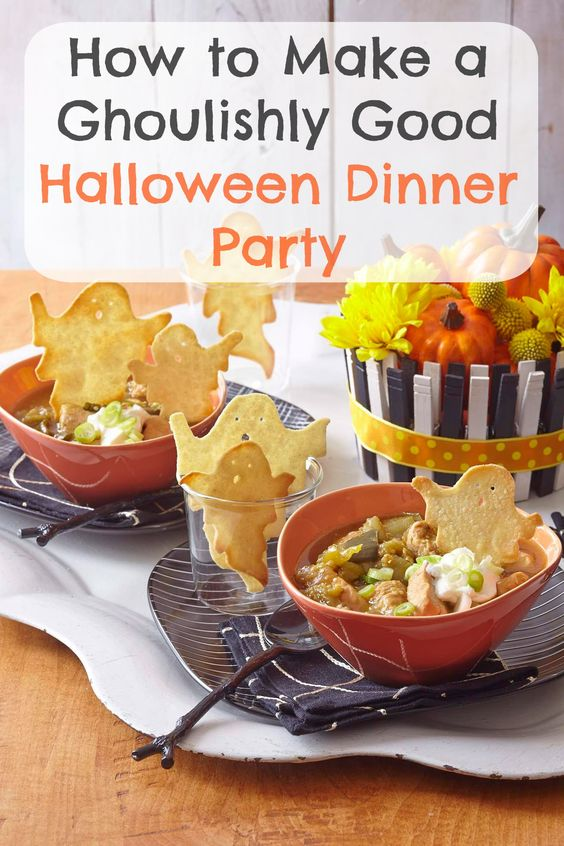 savoury halloween party food uk